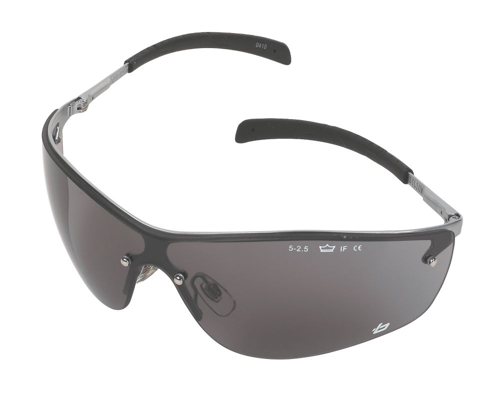 Bolle Silium Smoke Lens Safety Specs