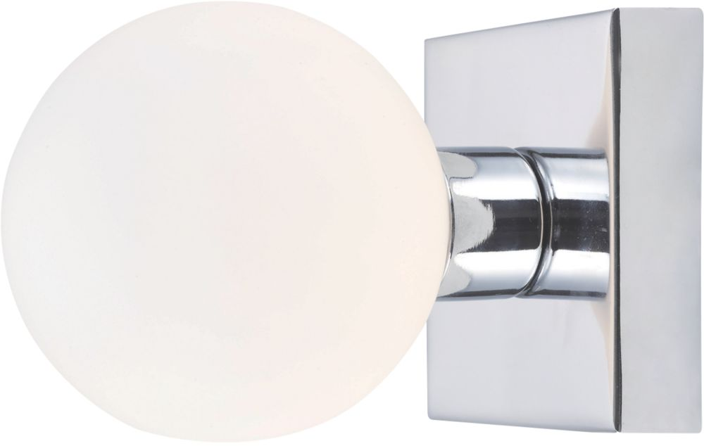 Masterlite Remius Chrome Bathroom Wall Light 18W