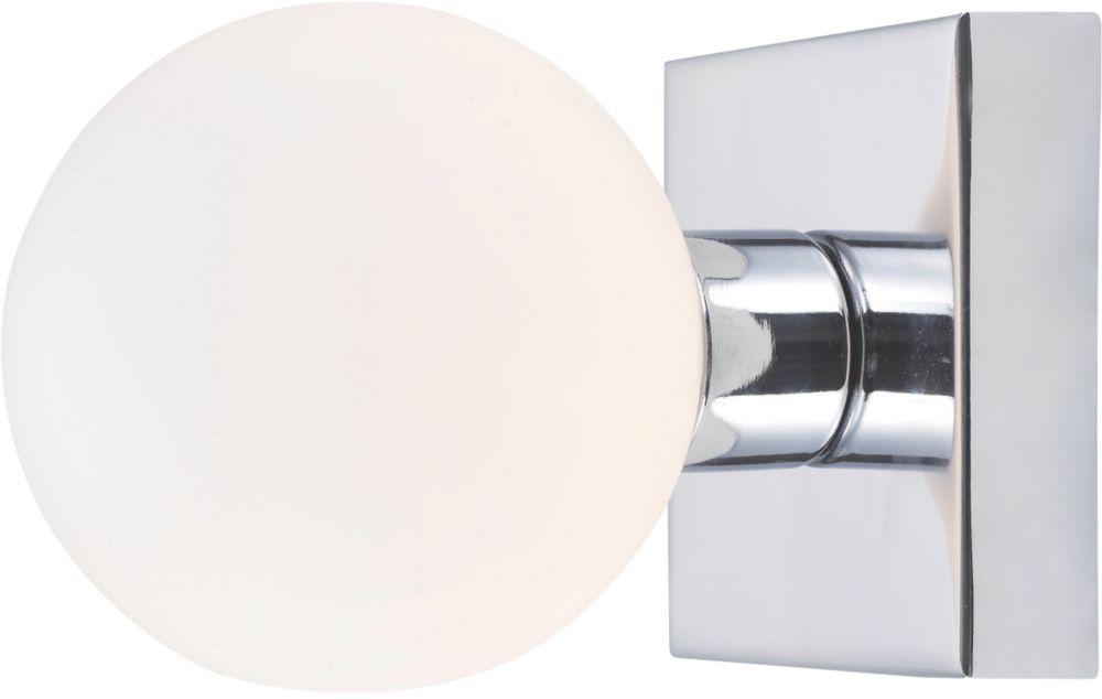 Masterlite Remius Chrome Bathroom Wall Light 18W