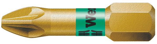 Wera Bi-Torsion Extra Hard Gold Pozi #3 25mm
