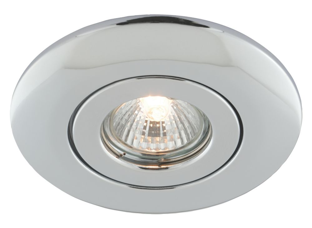 LV Ceiling Downlight Converter Polished Chrome 12V
