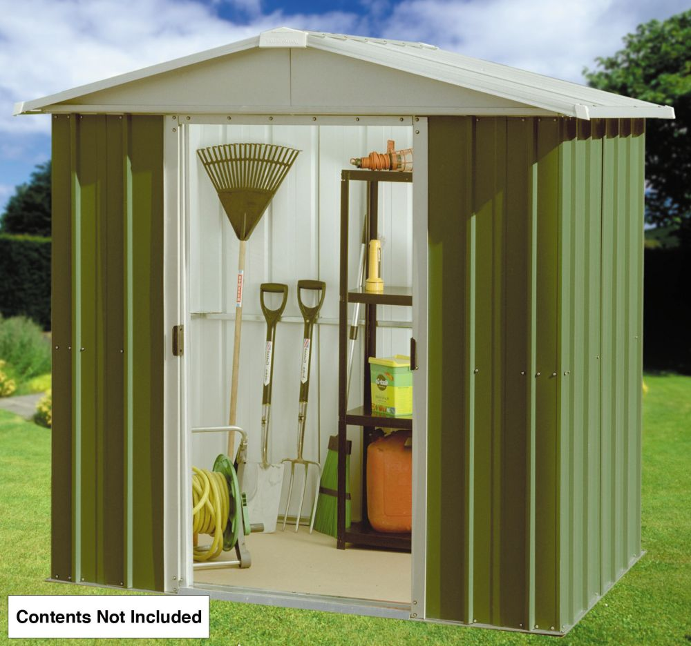 "Yardmaster Sliding Door Apex Shed 6'6"" x 6'10"" x 5'10"""