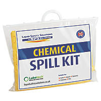 Lubetech 20Ltr Black & White Chemical Spill Response Kit