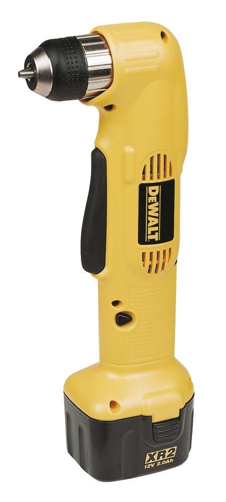 DeWalt DW965K 12V 2.0Ah Ni-Cd Angled Cordless Drill Driver