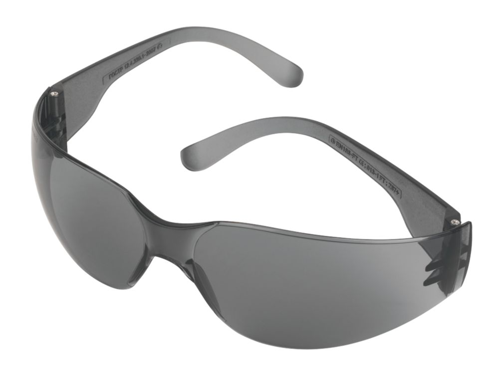 JSP Stealth 7000 Smoke Lens Safety Specs