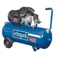 Scheppach HC100DC 100Ltr Twin Cylinder Air Compressor 230V