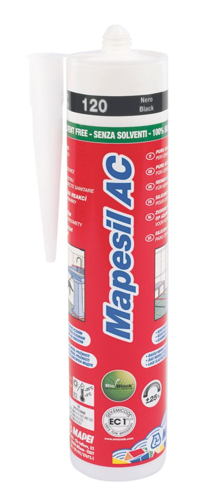 Mapesil Sealant Black 310ml