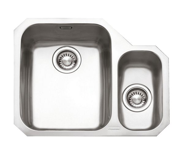 Franke Ariane ARX 160 Stainless Steel 1½ Bowl Undermount Kitchen Sink RH