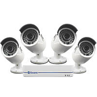 Swann SWNVK-872854 8-Channel 1080p HD NVR CCTV Kit with 4 Cameras