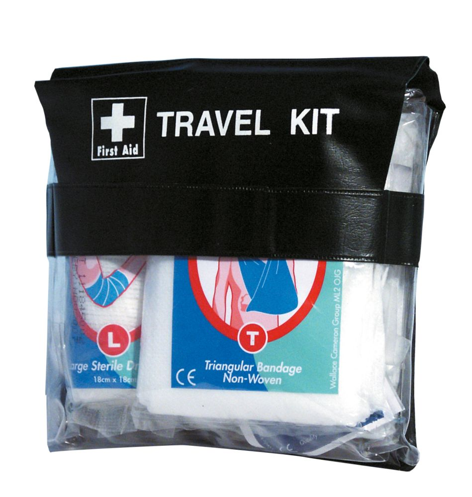 1 Person First Aid Travel Pouch