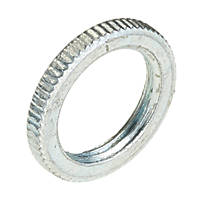 Deta BZP Metal Milled-Edge Lockrings 20mm Pack of 10