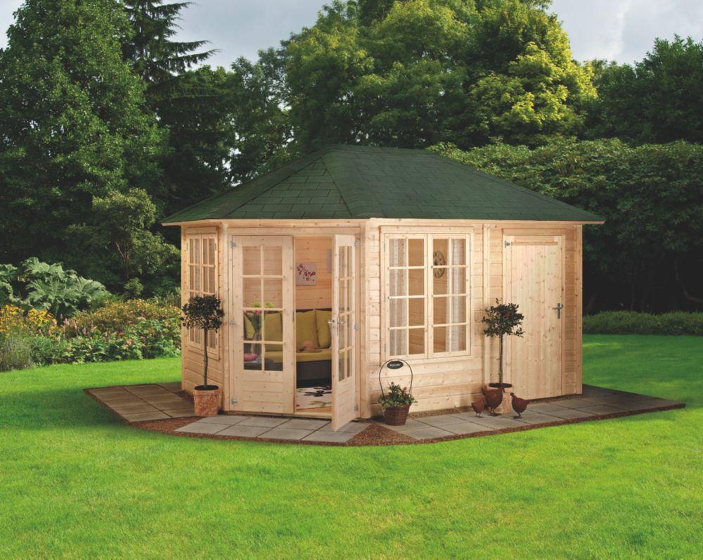 Finnlife Reikko 212 Log Cabin 2.7 x 4.1 x 3m