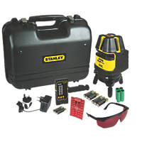 Stanley FatMax 1-77-322 Multi-Line Laser Level with Detector
