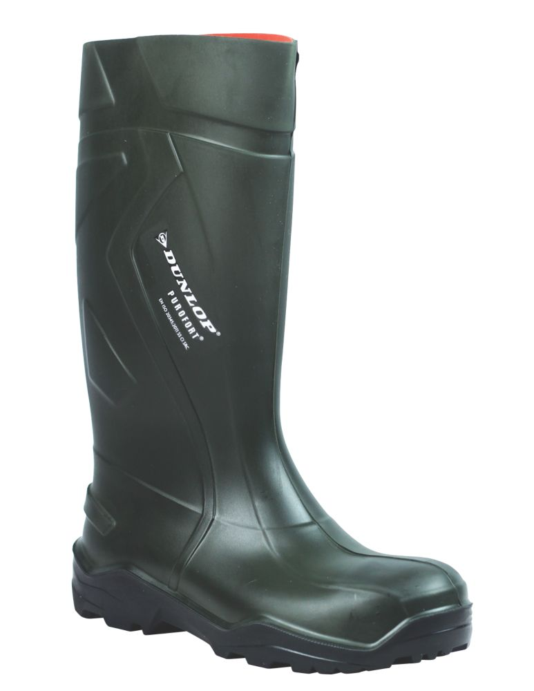 Dunlop C762933 Purofort+ Full Safety Standard Wellington Size 10