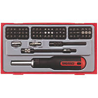 Teng Tools Ratchet Screwdriver Set 74 Pieces