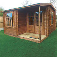 Ringwood Log Cabin 3.6 x 3.6m