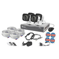 Swann SWDVK-816004-UK 8-Channel Security System & 4 Cameras