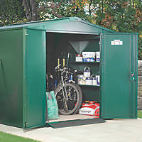 Asgard Gladiator Plus 2 All-Metal Bike Store Green 2.3 x 4.4m