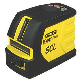 stanley fatmax scl cross line laser laser levels. Black Bedroom Furniture Sets. Home Design Ideas