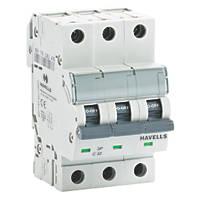 Havells 32A Triple-Pole Type C MCB