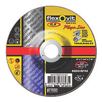 Flexovit Ultra Thin Cutting Discs 125 x 0.8 x 22.23mm 5 Pack