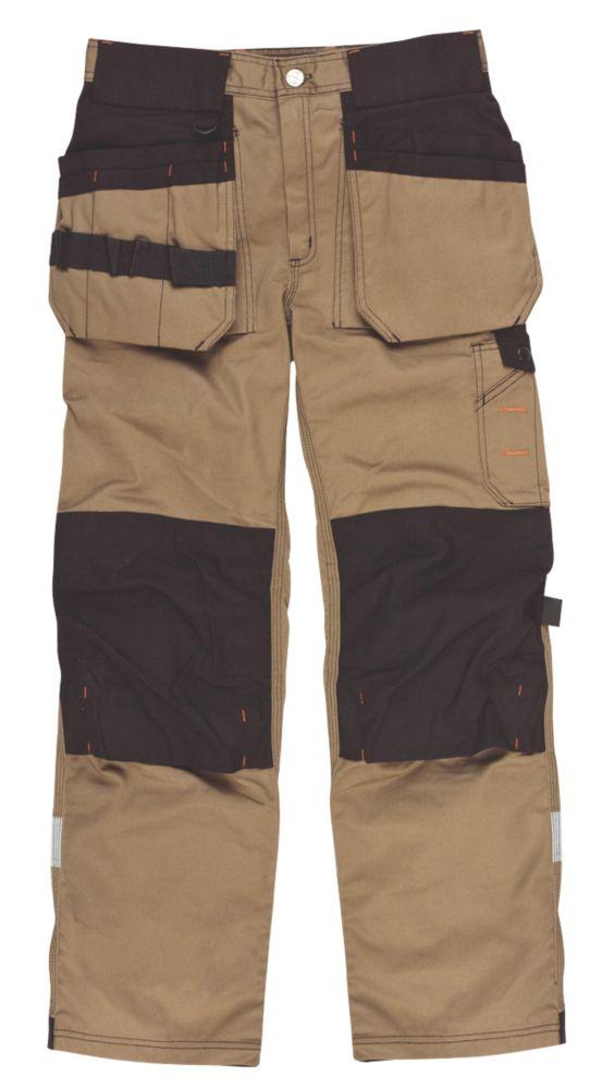"Scruffs Trade Trousers Brown 36"" W 31"" L"