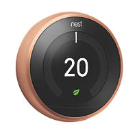 Nest T3018GB Smart Thermostat & Hot Water Control  Copper