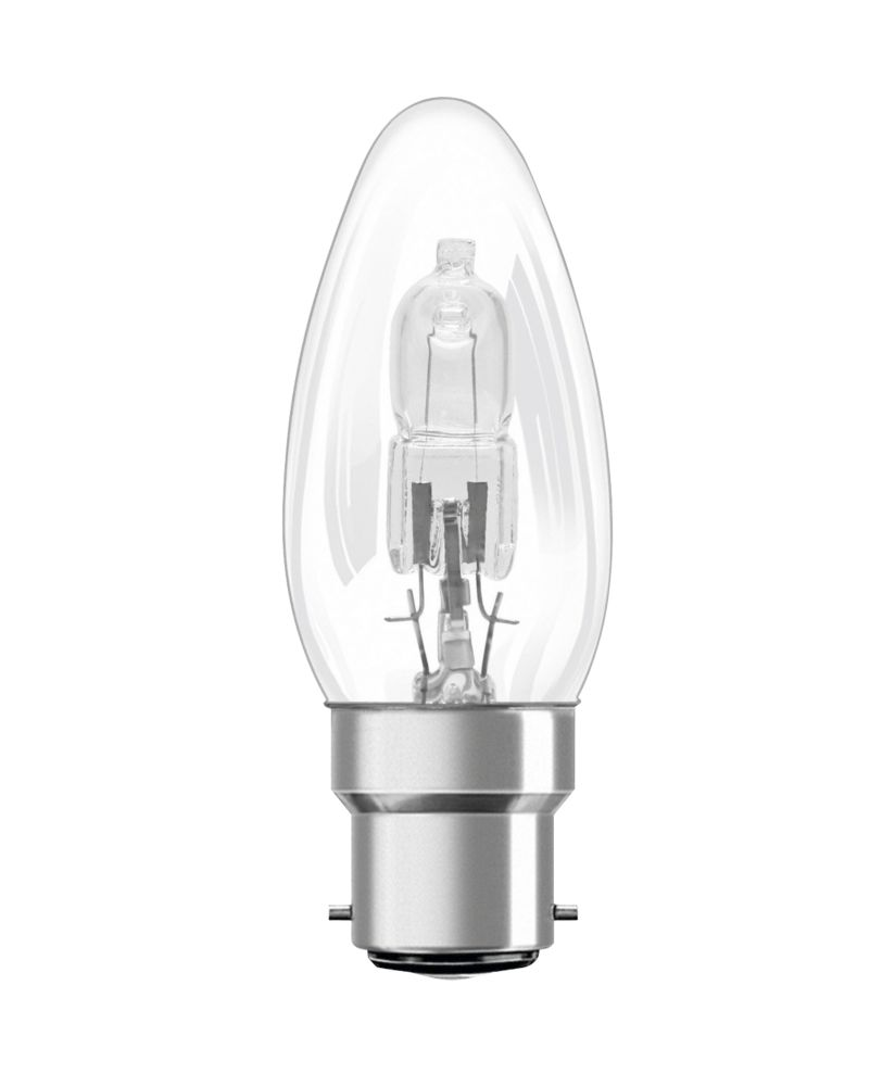 Osram Classic ECO Superstar Candle Halogen Lamp BC 700Lm 46W