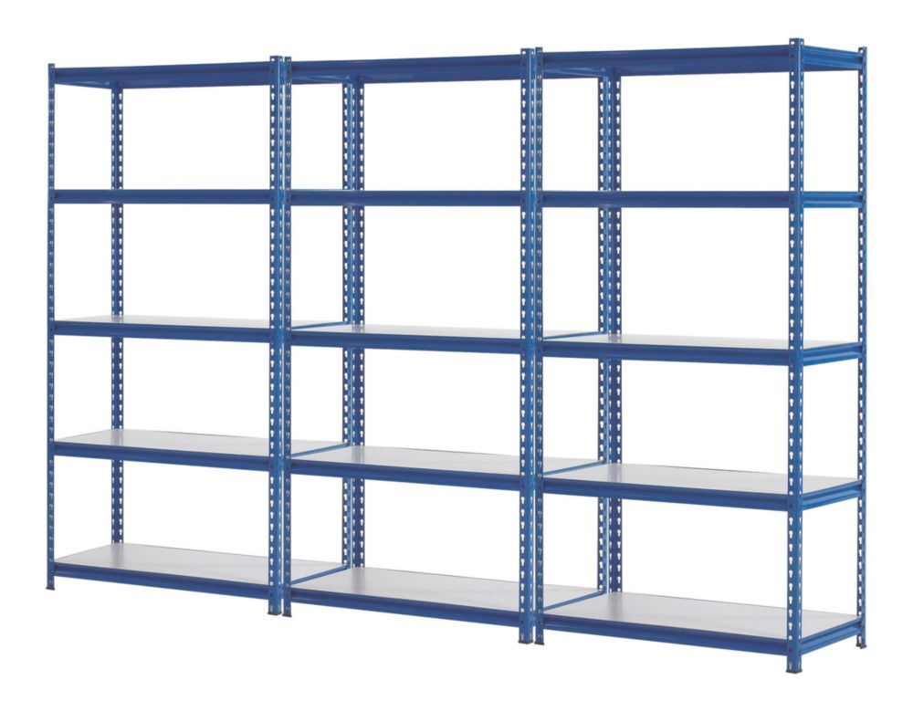 3 Shelving Bays 1830 x 923 x 619mm