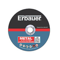 "Erbauer 3"" Metal Cutting Discs Pack of 10"