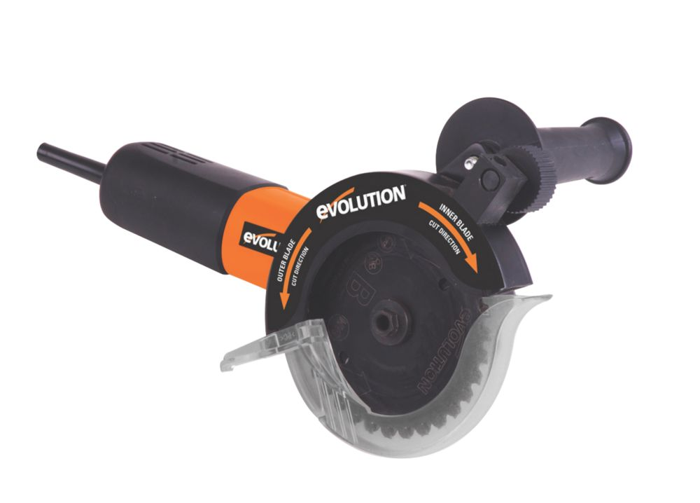 Evolution Rage Twin 125mm Multipurpose Twin Blade Saw 110v