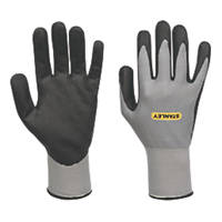 Stanley  Micro Dot Gripper Gloves Grey Large
