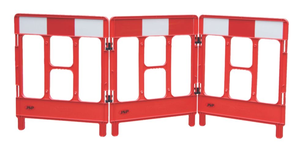 JSP 3-Gate Workgate Barrier Red