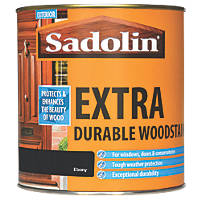 Sadolin Woodstain Translucent Semi-Gloss Ebony 1Ltr