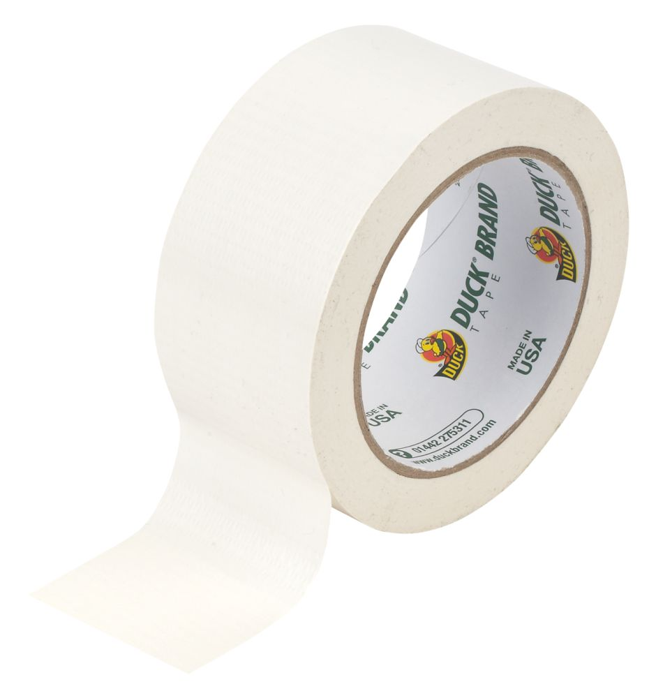 Duck Original Cloth Tape White 50mm x 25m
