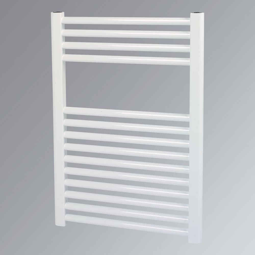 Kudox Flat Towel Radiator White 700 x 500mm 322W 1099Btu