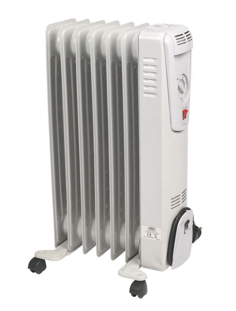 7 Fin Oil-Filled Radiator 1.5kW 240V