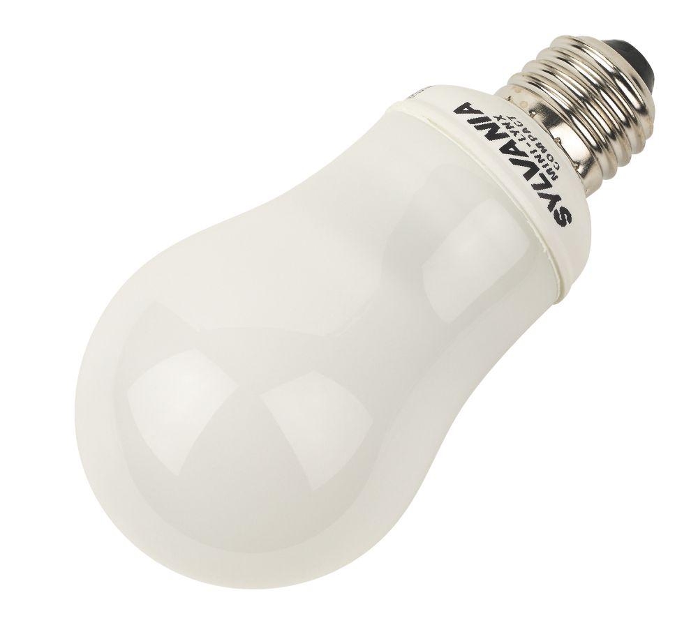 Sylvania Mini Lynx GLS Compact Fluorescent Lamp ES 810Lm 15W