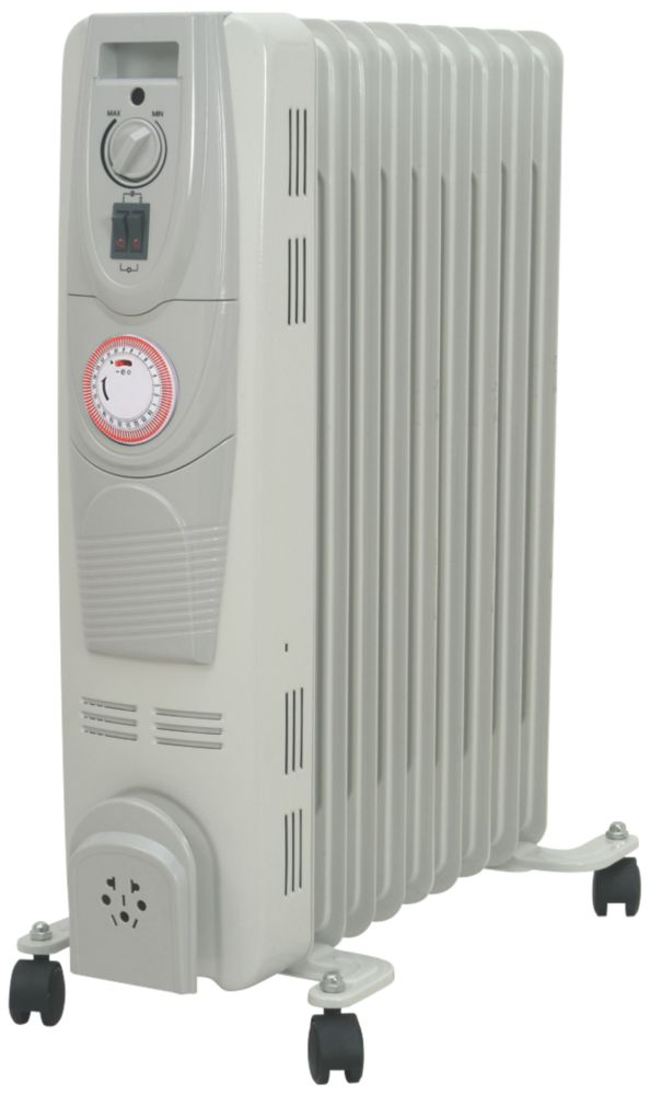 HD901 Oil-Filled Portable Convector Radiator with Timer 2000W