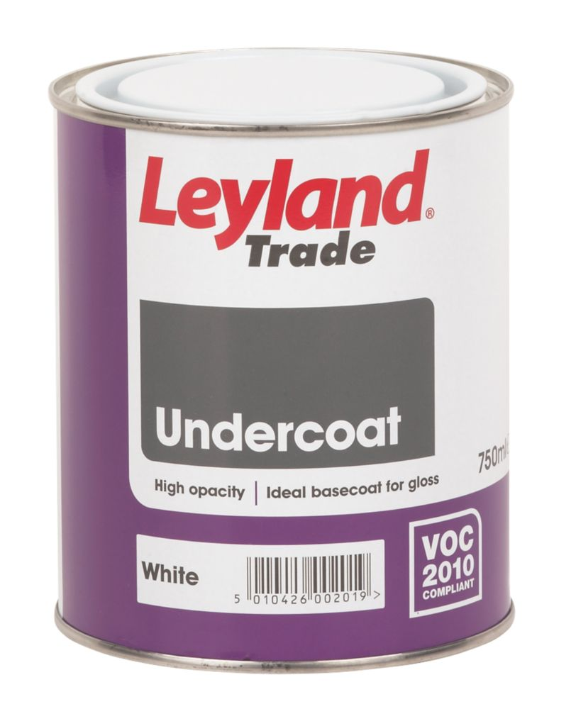 Leyland Undercoat White 750ml