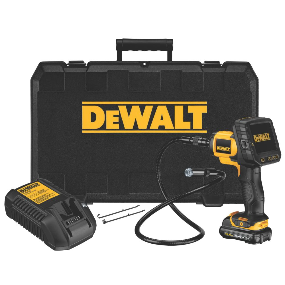 DeWalt DCT410S1-GB 10.8V 1.3Ah Li-Ion Cordless Digital Inspection Camera