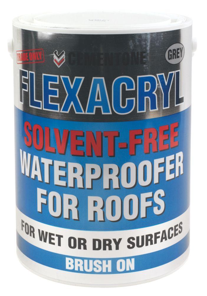 Cementone Solvent-Free Flexacryl Roof Repair Grey 5kg
