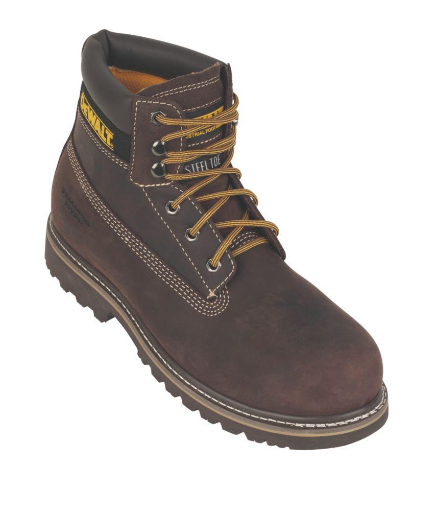 DeWalt Work Safety Boots Brown Size 7