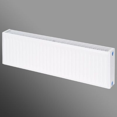 Flomasta Type 22 Double Panel Double Convector Radiator White 300 x 1000mm