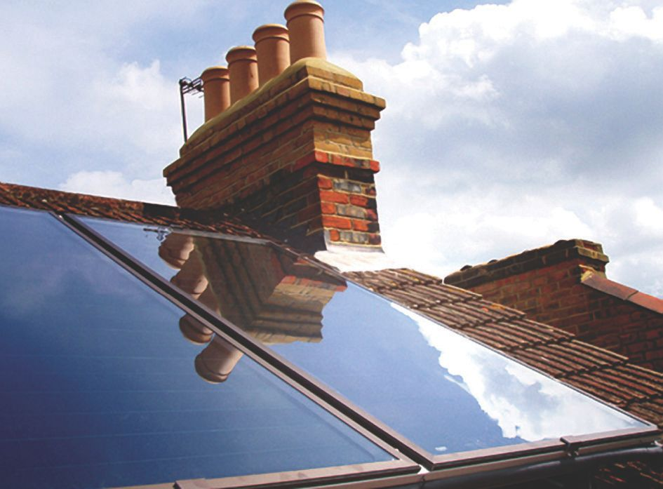 RM Solar Two Panel Roof Kit-Slate