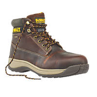DeWalt Apprentice Galactic Safety Boots Tan Size 12