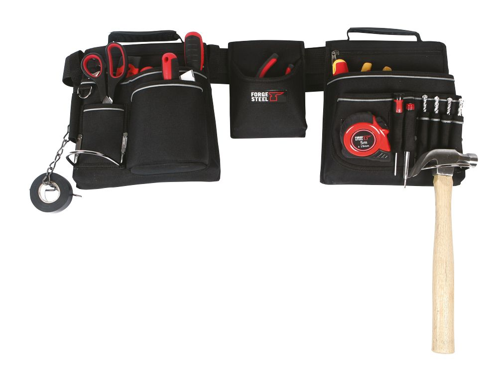 Forge Steel Heavy Duty Tool Belt