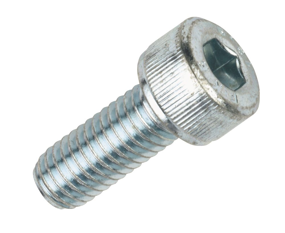 Socket Cap Screws BZP M8 x 20mm Pack of 50