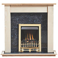 Focal Point Blenheim Gas Inset Suite Ash Veneer