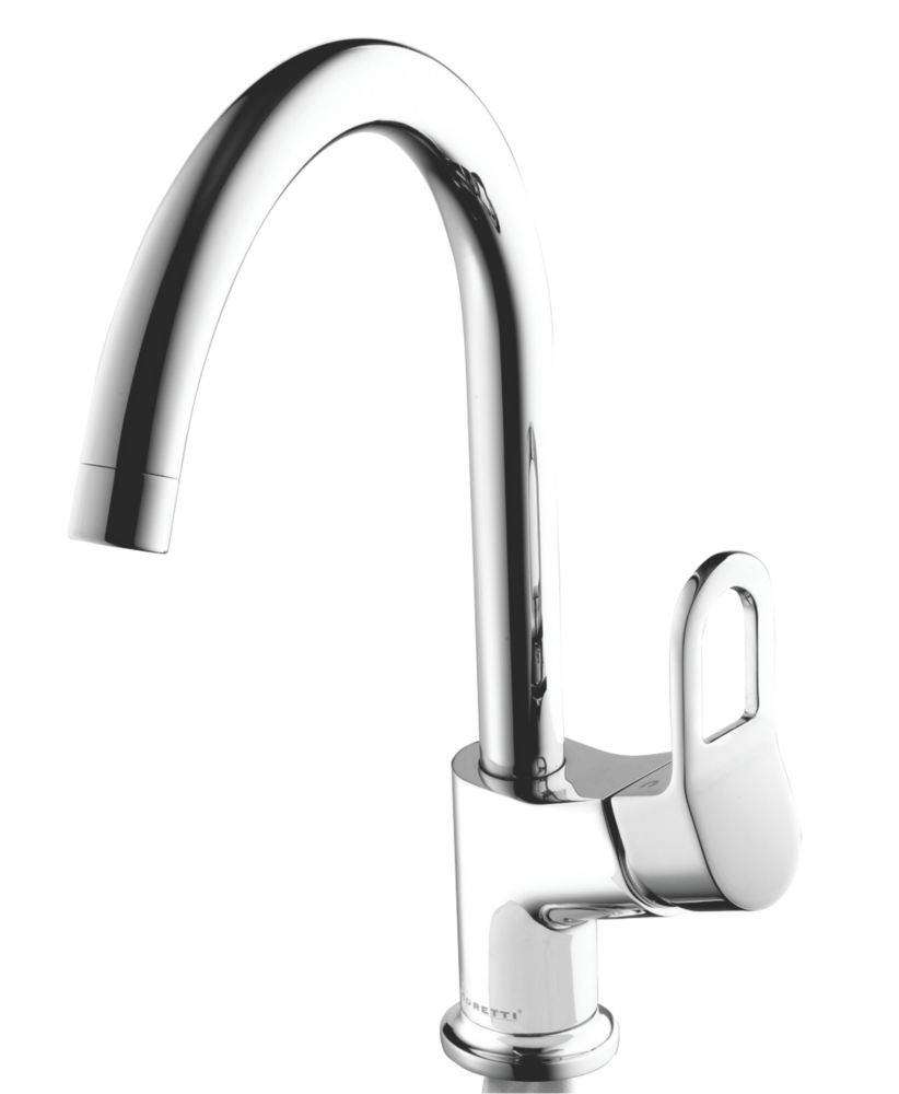 Moretti Foro Single Lever Mono Mixer Kitchen Tap Chrome